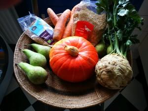 vijf elementen voeding